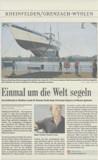 Zeitungsbericht: Badische Zeitung am 29. August 2011